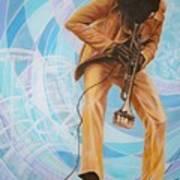 Miles Davis  In A Yellow Suit Art Print