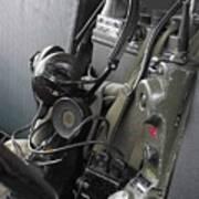Military Vehicle Radio Art Print