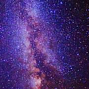 Milky Way Splendor Vertical Take Art Print