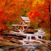 Mill Creek Art Print