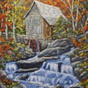 Mill Scene 03 Art Print