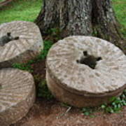 Mill Stone Art Print