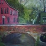 Mill Street Plein Aire Art Print
