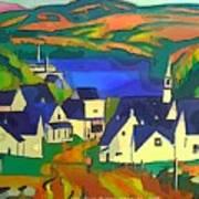 Mill Town, Quebec Art Print