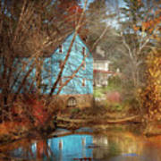 Mill - Walnford, Nj - Walnford Mill Art Print