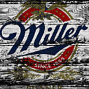 Miller Beer 5b Art Print
