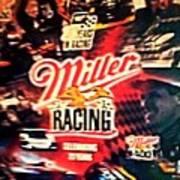 Miller Racing Sign 25th Year Art Print