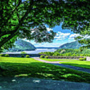 Million Dollar View From West Point Military Academy Art Print