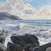 Millook Haven Art Print