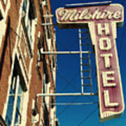 Milshire Hotel Chicago Art Print