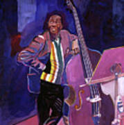 Milt Hinton Jazz Bass Art Print