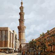 Minareto E Mercato Art Print