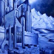 Minas Tirith Art Print