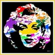 Mind Altering Marilyn Art Print
