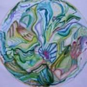 Mind Mandala Art Print