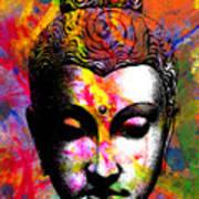 Mind Art Print by Ramneek Narang