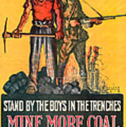 Mine More Coal Art Print