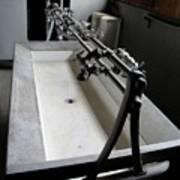 Miner Communal Sink Art Print