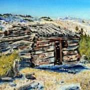 Miner's Cabin Art Print
