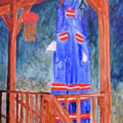Miner's Overalls Art Print