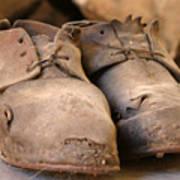 Mining Shoes  Langban Sweden Art Print