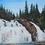 Mink Falls Art Print