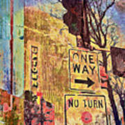 Minneapolis Uptown Energy Print by Susan Stone