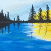 Minnesota Lakes Art Print