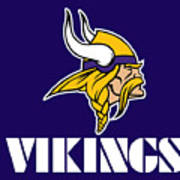 Minnesota Vikings Art Print