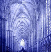 Minster In Blue Art Print