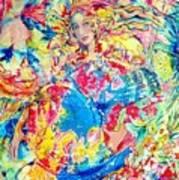 Miradas De Aves Art Print