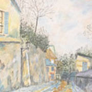 Mirage Of Utrillo Art Print
