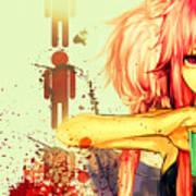 Mirai Nikki Art Print