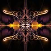 Mirror Gateway / Holga Effect Art Print