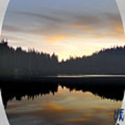 Mirrored Lake Art Print