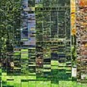 Mirrored Landscape Art Print