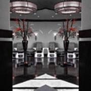 Mirrored Salon  Art Print