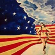 Miss America? Art Print