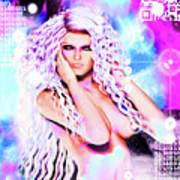 Miss Inter-dimensional 2089 Art Print