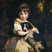 Miss Jane Bowles Art Print