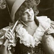 Miss Marie Studholme As Lady Madcap 1905 Art Print