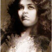 Miss Maude Fealy Art Print