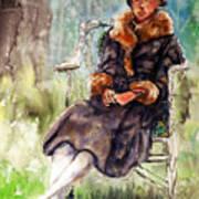 Miss Olivia Art Print