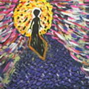 Miss Ufo Art Print