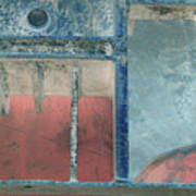 Missing Middle Bar Left Flipped Horizontal Art Print