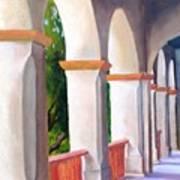 Mission Arches Art Print