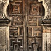 Mission Espada Door - 2 Art Print