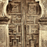 Mission Espada Door - 4 Art Print
