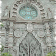 Mission Inn Chapel Door Art Print
