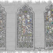 Mission Inn Chapel Stained Glass Art Print